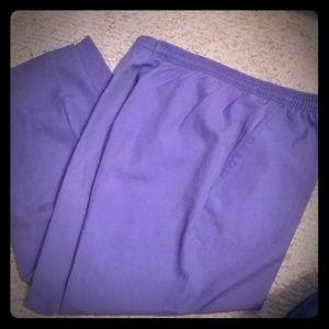 $1.00purple slacks